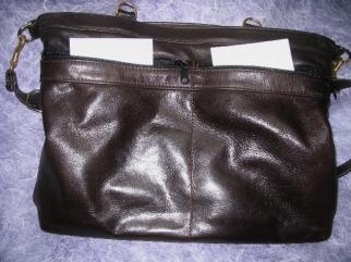MacClay leather bag