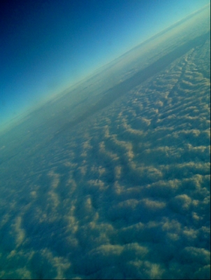 cloud from plane
