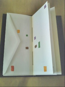 Envelope journal, center