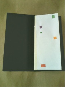 Envelope Journal, open