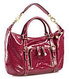 shiny red bag