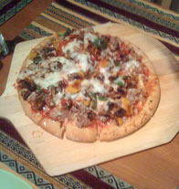 Homemade pizza from KentCooks!