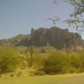 Superstition Mountain, AZ