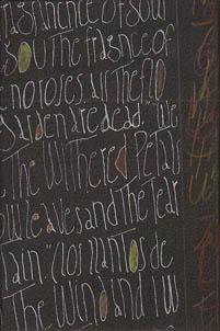 Writing fragment, Antonio Machado poem