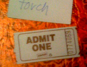 Word ticket. Admit to anything you want.