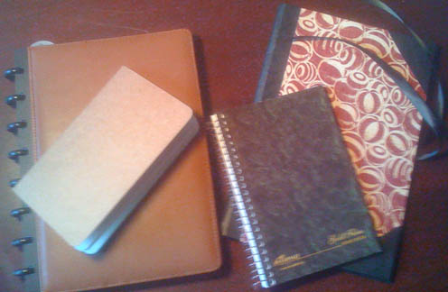 Use a journal that's comfortable for you.