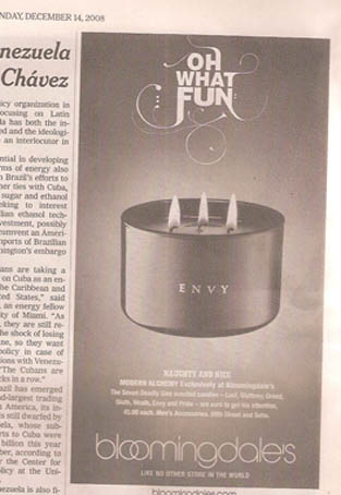 3-wick candle, just for men