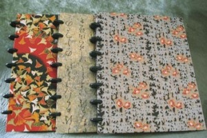3 journals for different topics
