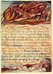 Illuminated manuscript: Evil is Hell