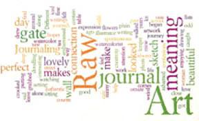 Raw art journal Wordle