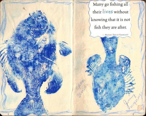 Unthemed Journal, p.4-5 Peg Cole, artist