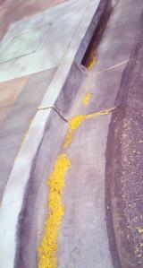 Drifts in the gutter