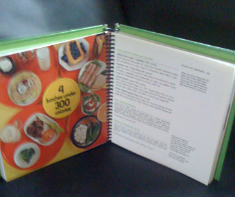 . . .complete with recipes and food photos . . .