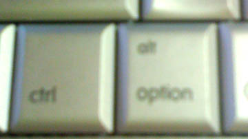 control/option keys