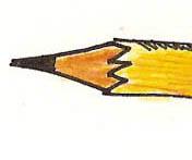 Tip of new logo for Quinn's Raw-art-joujrnals