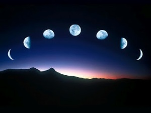 Moon+in+phases