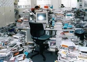 Not my office, honest. i got this from author2author.com