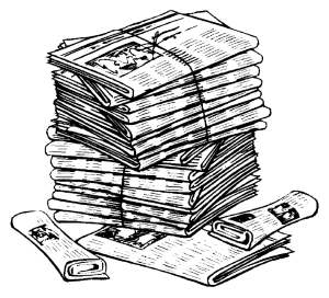 newspaper-stack