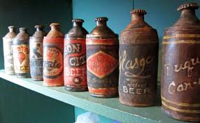 Liz Crain's rusted oil containers--in ceramic.