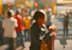 Blurred painting by Philip Barlow.