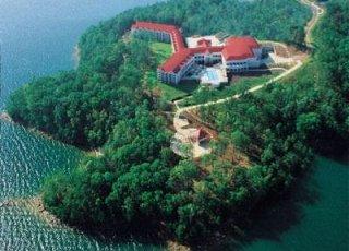 Legacy Lake at Lake Lanier Island Resort.