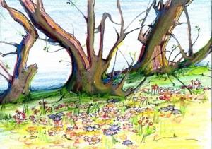 Margaret Peot's illustration from Chapter 2.