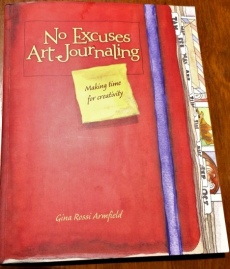 Cover of the No Excuses Art Journal.