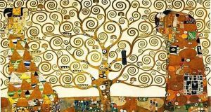 Tree of Life, Klimt. No longer under copyright. Image from http://bit.ly/1r1q1eV