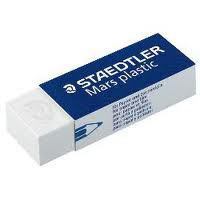 My favorite eraser--clean, neat, won't shred your paper.