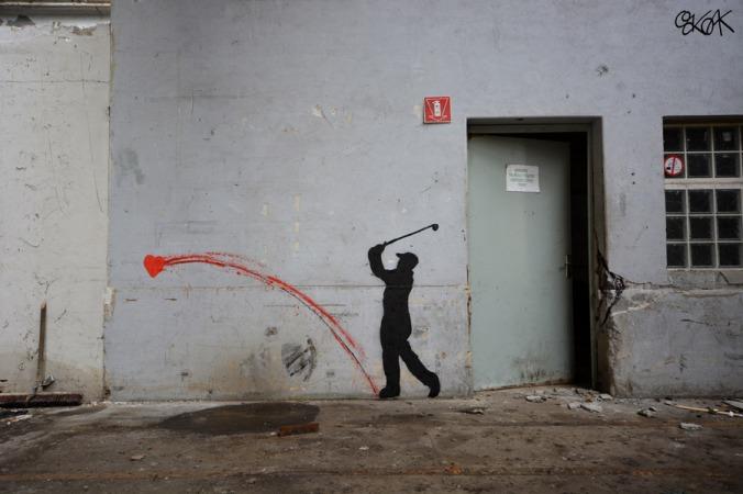 Street art © by Oakoak