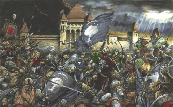 The Battle of Minas Tirith.
