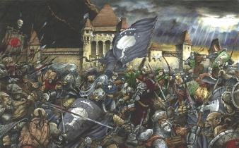The Battle of Minas Tirith.