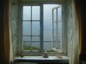 You may have to open your own window to let a fresh breeze blow in.