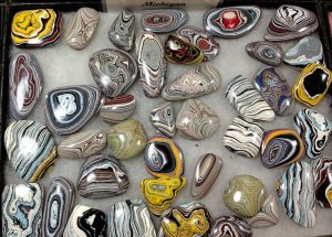 Fordite ready for jewelry.