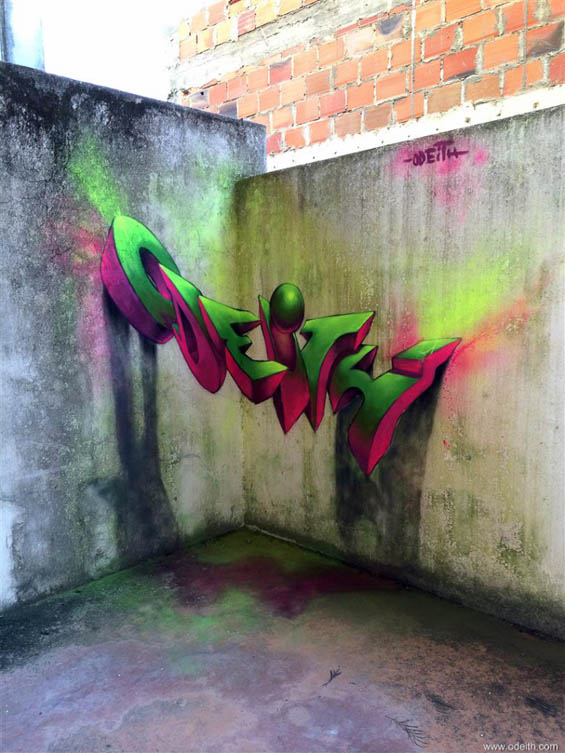 odeith-anamorphic-3d-graffiti-letters-pink-and-green-fluor-lights-lisboa-portugal