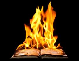 words, burning