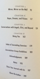 Table of Contents, page 2.